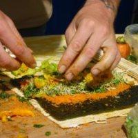 Raw Veggie Sushi Rolls